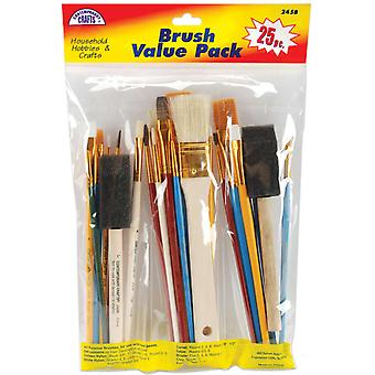 Brush Set Value Pack 25 Pkg 245B