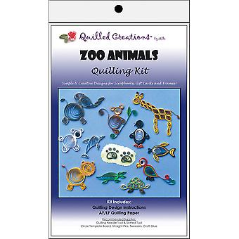 Quilling Kits Zoo animaux Q40 2