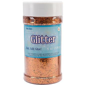 Metallic Glitter Orange 8 Unzen Sul8mtl 51149