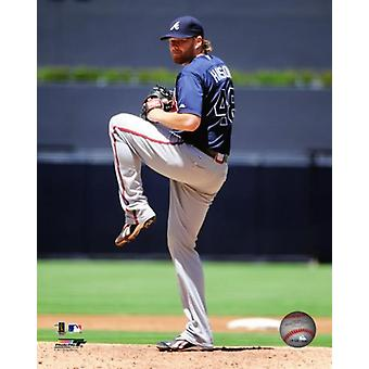 Tommy Hanson 2011 Action Photo Print