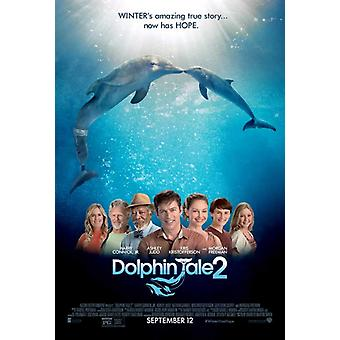 Dolphin Tale 2 Movie Poster (11 x 17)