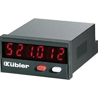 Kübler CODIX 523 Time counter Codix 523 Assembly dimensions 45 x 22 mm