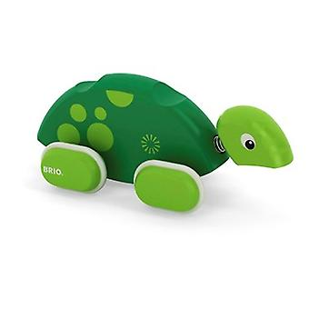BRIO Push Along Turtle 30193(damaged packaging was £11.77)