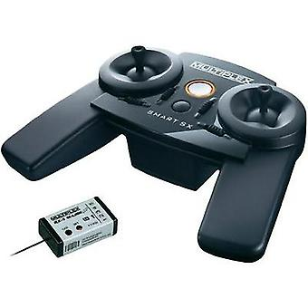 Multiplex SMART SX M-LINK Handheld RC 2,4 GHz No. of channels: 5 Incl. receiver
