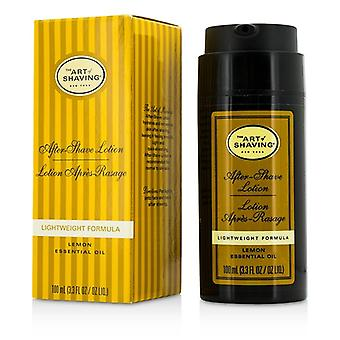 Kunsten å barbering etter barbering Lotion - sitron (For Normal til fet hud) 100ml/3.3 oz