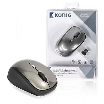 Konig standard 3-button wireless mouse