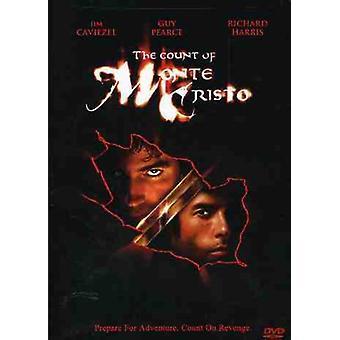 Greven af Monte Cristo [Ws] [DVD] USA importerer