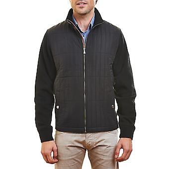 Flagstaff men's sweat jacket 'Andrés' black