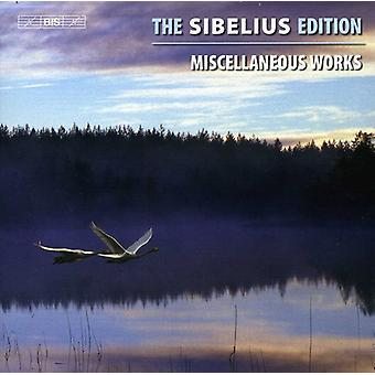 J. Sibelius - The Sibelius Edition, Vol. 13: Miscellaneous Works [CD] USA import