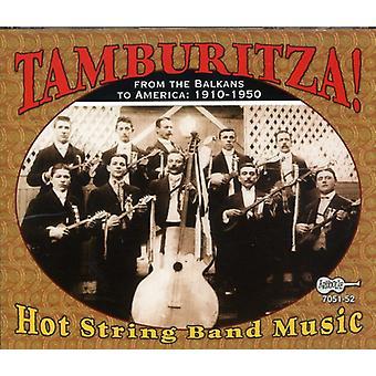 Tamburitza-Hot String Band musik - Tamburitza-Hot String Band musik [CD] USA import