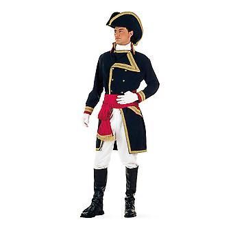 Almirante Nelson britscher marinera Varonil traje teniente capitán