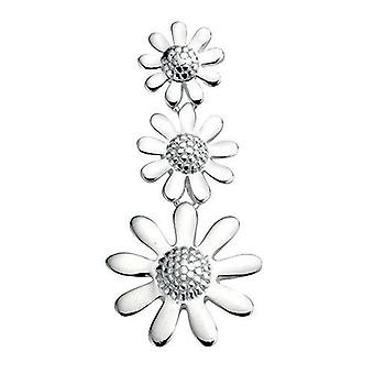 925 Silver Flower Necklace