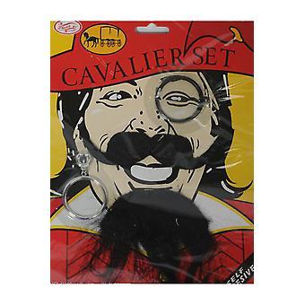 Barbes et moustaches hommes Set Pirate