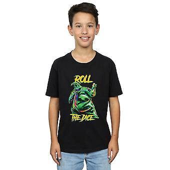Disney Boys Nightmare Before Christmas Oogie Boogie Dice T-Shirt