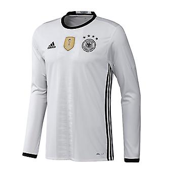 2016-2017 Alemania Adidas Home manga larga camiseta