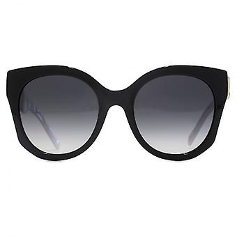 Marc Jacobs J Temple Cateye Sunglasses In Black