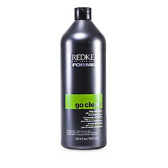 Redken Men Go Clean Daily Care Shampoo (For Normal to Dry Hair) 1000ml/33.8oz
