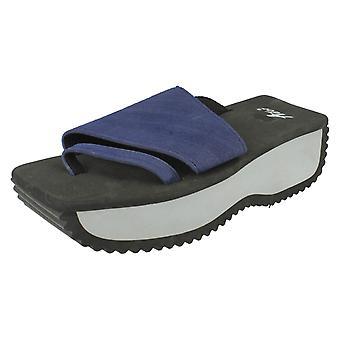 Damer Ador Comfort Foam Flatfom sandaler