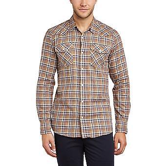 Jack and Jones Vance Western Dijon Casual Shirt
