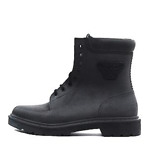 Armani Jeans Sneaker 935134 7A415 00020 Black Boots Shoes