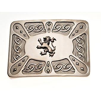 Belt Buckle Lion Antique WES