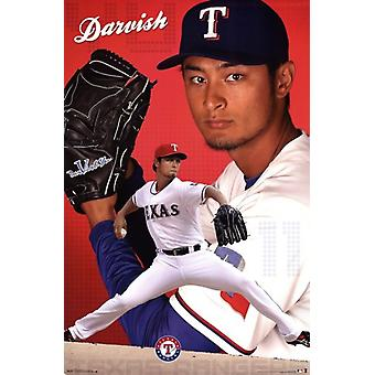 Texas Rangers - Y Darvish 13 Poster Poster Print