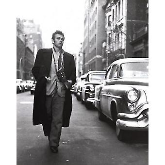 James Dean - Broadway Poster Poster Print