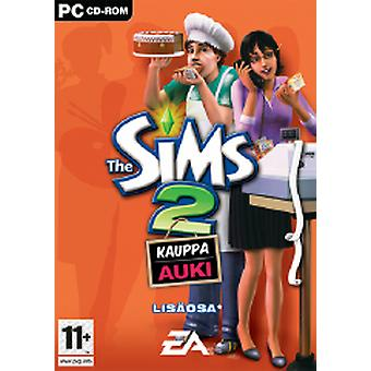 Sims 2 open for business (PC DVD)