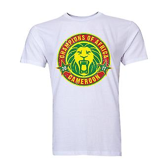Cameroun pays africains gagnants T-Shirt (White)