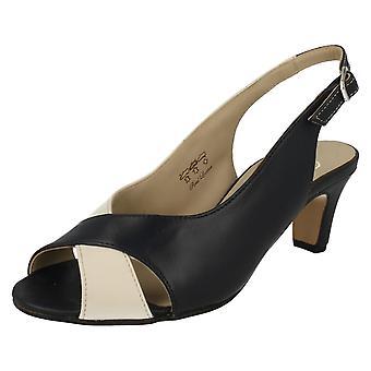 Ladies Equity Heeled Sandals Suzy