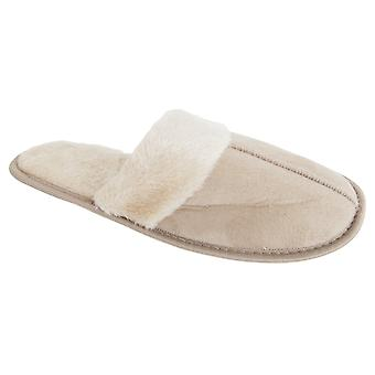 a5079a882c25 Sale Slumberzzz Womens Ladies Cosy Classic Mule Slippers