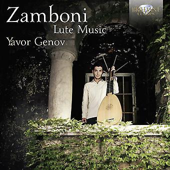 Zamboni - Lute Music [CD] USA import