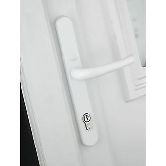 Yale Yale Universal Replacement Door Handle - White