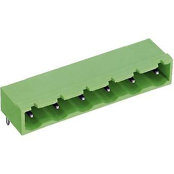 Pin enclosure - PCB STLZ960 Total number of pins 6 PTR 50960065021D Contact spacing: 7.62 mm 1 pc(s)