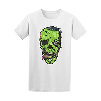 Skull Zombie Face Tee - Image by Shutterstock