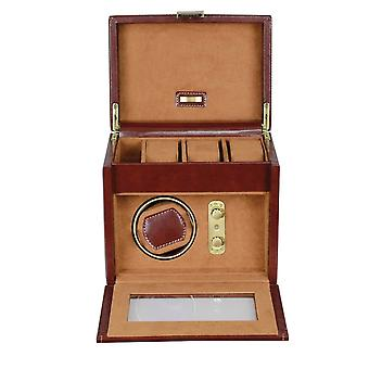 Leather Heritage Chestnut Single Watch Winder