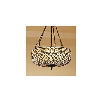 Interiors 1900 SU3FC + TO21L Mille Feux 3 Light Inverted Ceiling Penda