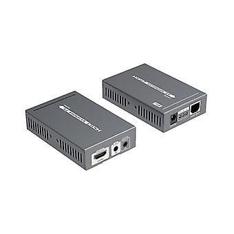 HDMI Amplifiers over Ethernet, PoE, 70 m, HDBase T, black