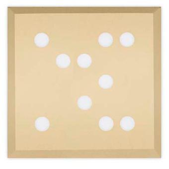 Leds C4 Ceiling Fixture Wow 100xLed 29.2W Painted Gold