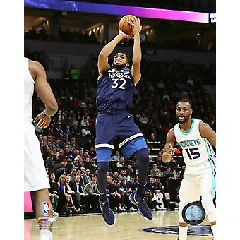 Karl-Anthony Towns 2017-18 Action Photo Print