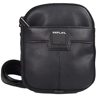 Replay Fm3305 Leather Pouch