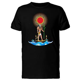 Egyptian Ra Sun God Tee Men's -Image by Shutterstock