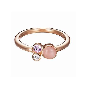 Esprit Damen Ring Silber Rosé Zirkonia Sweet Parfait ESRG92544B1
