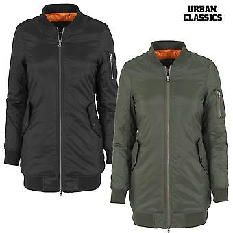 Urban classics ladies jacket long bomber