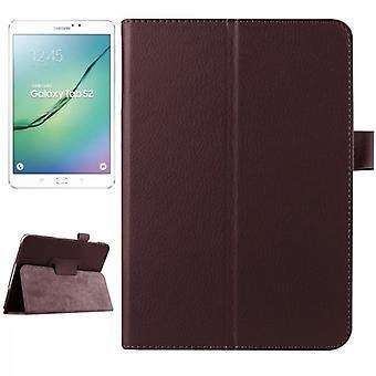 Schutzhülle Braun Tasche für Samsung Galaxy Tab S2 8.0 SM T710 T715 T715N