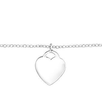 Coeur - 925 Sterling Silver Bracelets de chaîne - W32125X