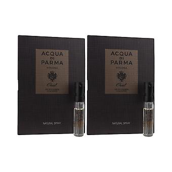 Acqua Di Parma 'Colonia Oud' Eau De Cologne concentraat 1,5 ml (Pack van 2)