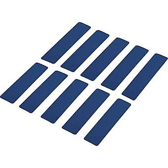 Conrad Components 1282798 Adhesive strips RTS Blue (L x W) 100 mm x 25 mm 10 pc(s)
