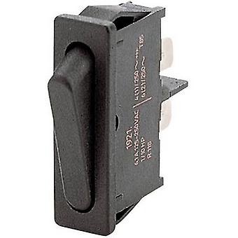 Marquardt Toggle switch 1921.1102 250 V AC 6 A 1 x Off/On latch 1 pc(s)