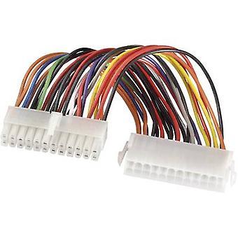 Extensión de Cable actuales [1 x ATX poder conector 24 pines - 1 x ATX potencia conector 24 pines.]